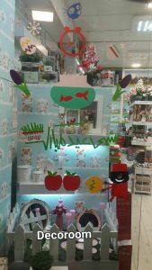 نمونه تولید شده برچسب روی شیشه مغازه سال نو