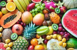 تاثر میوه جات و سبزیجات در تقویت معده