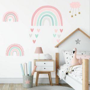 برچسب دیواری اتاق کودک دخترانه